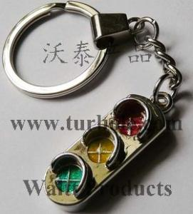 Traffic Light Keychains