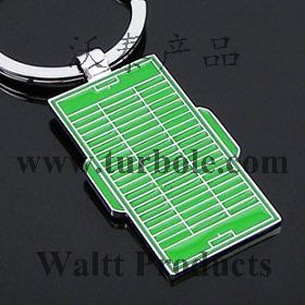 Football Court Keychains, Picth Keychains